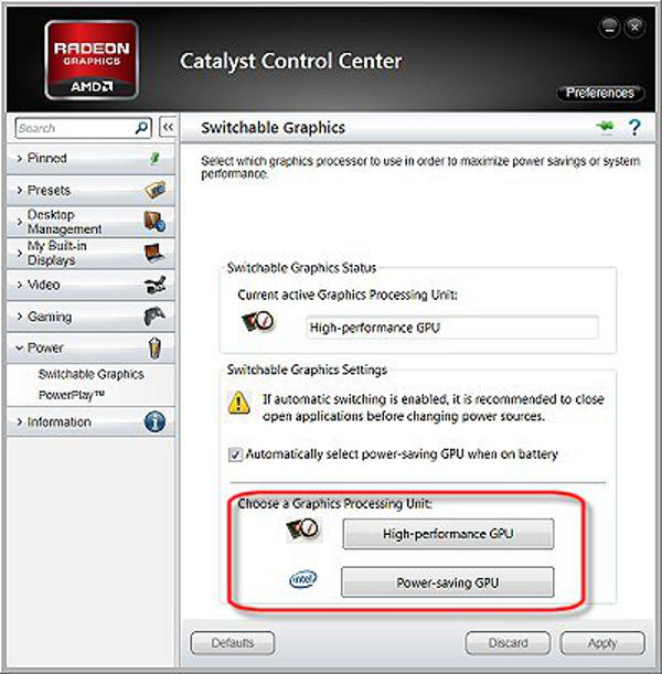 How to force Optimus or Switchable discrete GPUs? - Answers